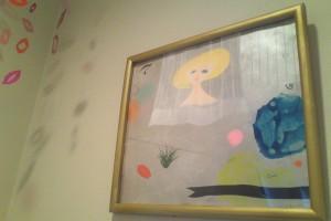 壁掛けの絵